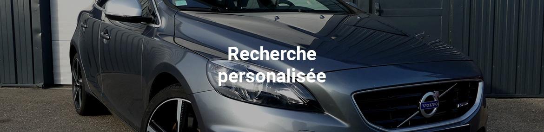 Recherche personnalisée de véhicule
